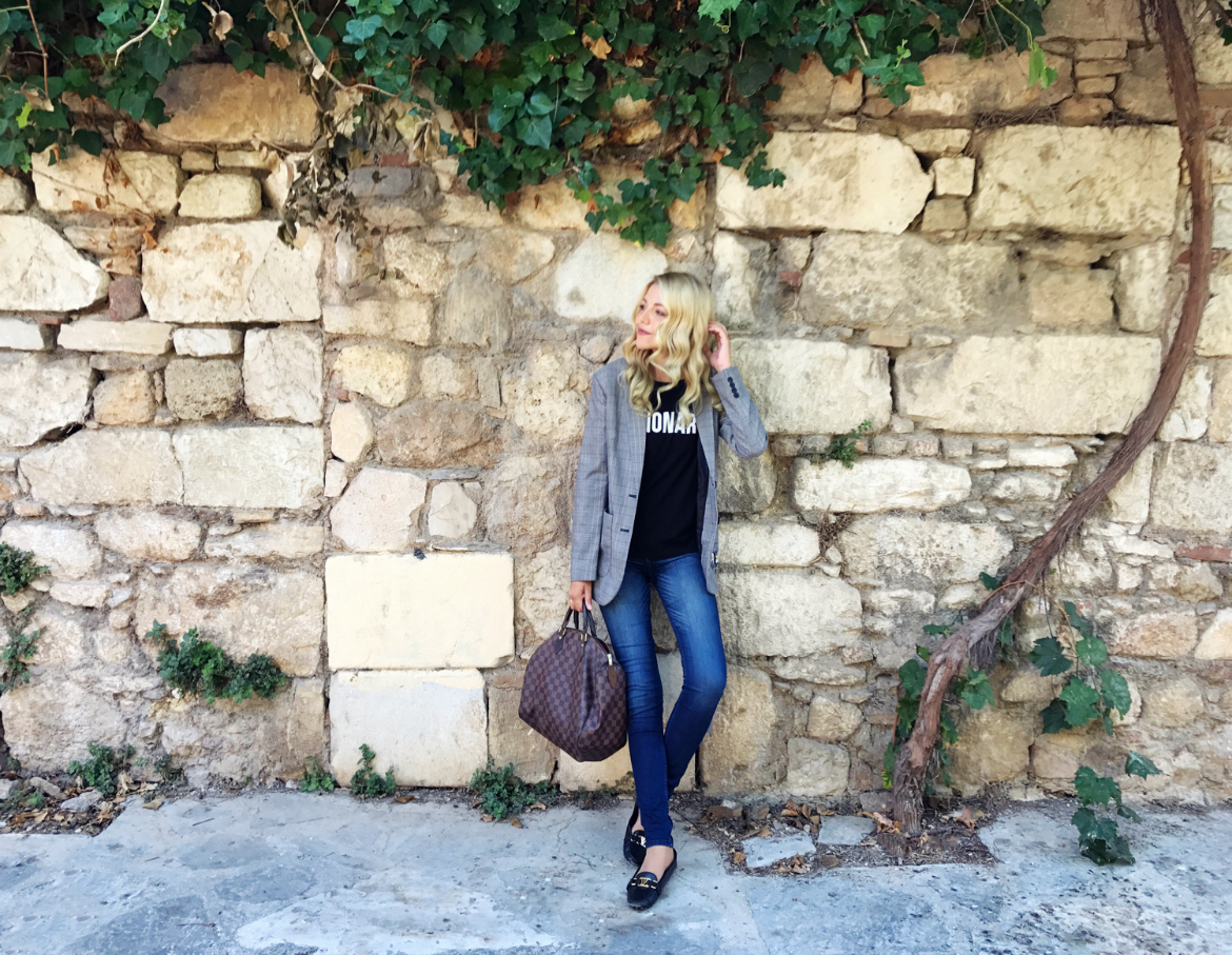 Last Saturday I Went For A Stroll In The Historic Center Of Athens For A  True Sense Of The Changing Landscape. I Chose To Wear A Blazer, ...
